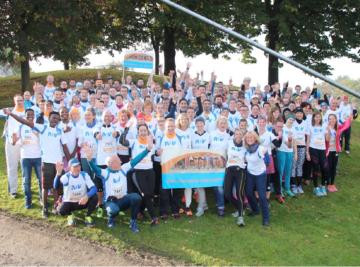 Teilnehmer des Münchner Marathons am Sonntag den 09.0.2016